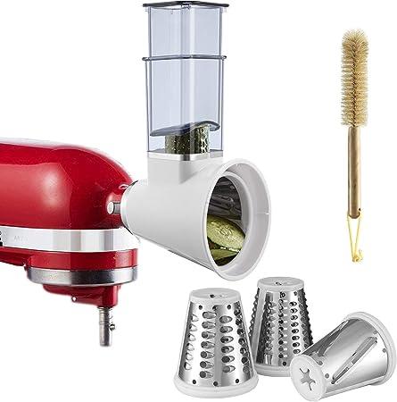 Slicer Shredder Attachment for KitchenAid Stand Mixers