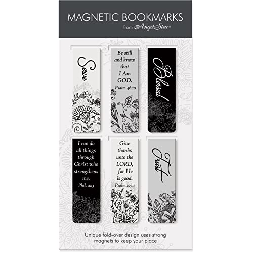 graphic relating to Who I Am in Christ Printable Bookmark named Magnetic Bookmarks for Publications: