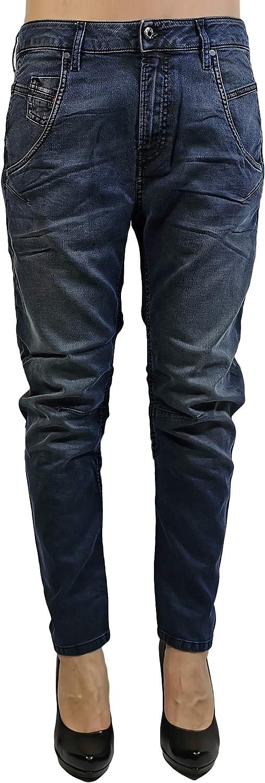 Diesel Womens Stretch Jogg Jeans Fayza-Ne 0683Y Relaxed Boyfriend darkblue