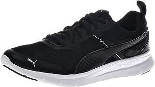 Puma Men's Flex Essential Black Sneakers-8 UK (42 EU) (9 US) (36526801)
