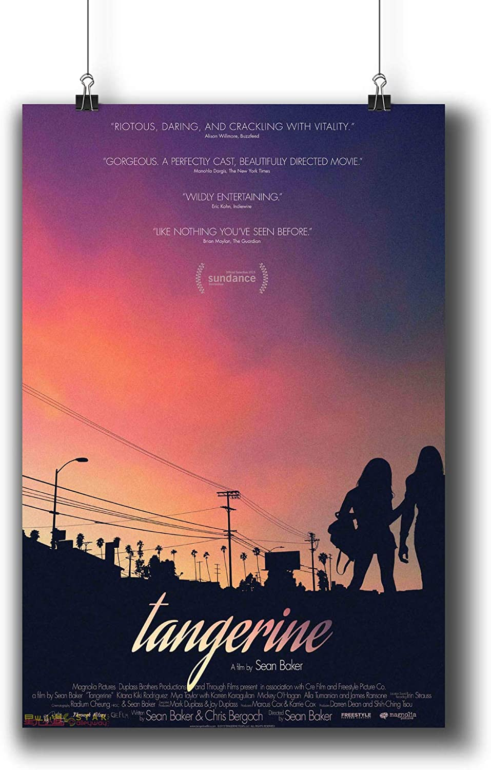 TANGERINE POSTER A4 A3 A2 A1 CINEMA FILM MOVIE LARGE FORMAT