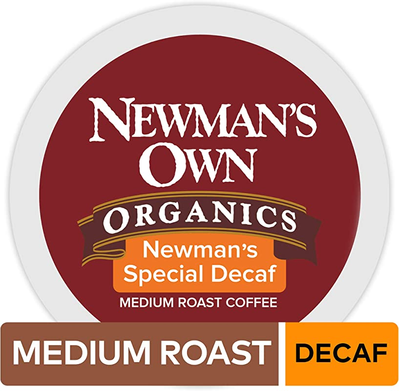 Newman S Own Organics Keurig Single Serve K Cup Pods Newman S Special Blend Decaf Medium Roast Coffee 72 Count 6 Boxes Of 12 Pods