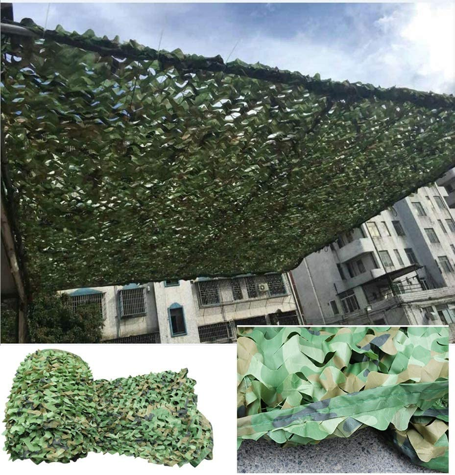 Camo Netting with Mesh Backing 4X5m X 13ft 16ft Max 68% OFF New Free Shipping for Jungle Dee