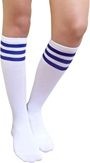 Women Casual Knee High Tube Socks Mid-Calf Socks Costume...