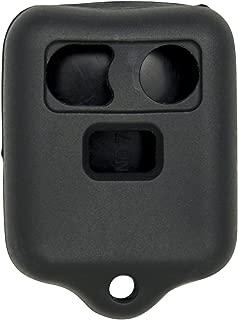 Keyless2Go New Silicone Cover Protective Cases for Remote Key Fobs FCC CWTWB1U345 CWTWB1U331 GQ43VT11T - Black