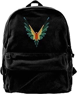 Devil Servant Logan Sun Conure Paul Fashion Canvas Shoulder Bag Backpack