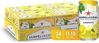 Sanpellegrino Italian Sparkling Drink, Lemon, 11.15 Fluid Ounce, Cans (Pack of 24)