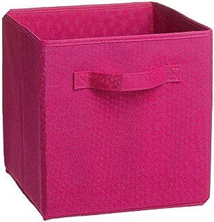 Fabric Folding Cube Non-Woven Storage Bins for Toy Underwear Clothes Shirt Organizer Book Storage Box Large Baskets Cosmetics,5