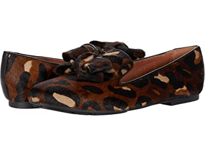 Gentle Souls by Kenneth Cole Eugene Ribbon (Brown Leopard Haircalf) Women