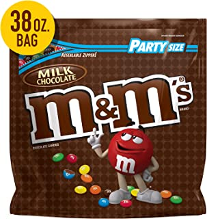M&M's Milk Chocolate Candy, 38 Oz Party Size Bag