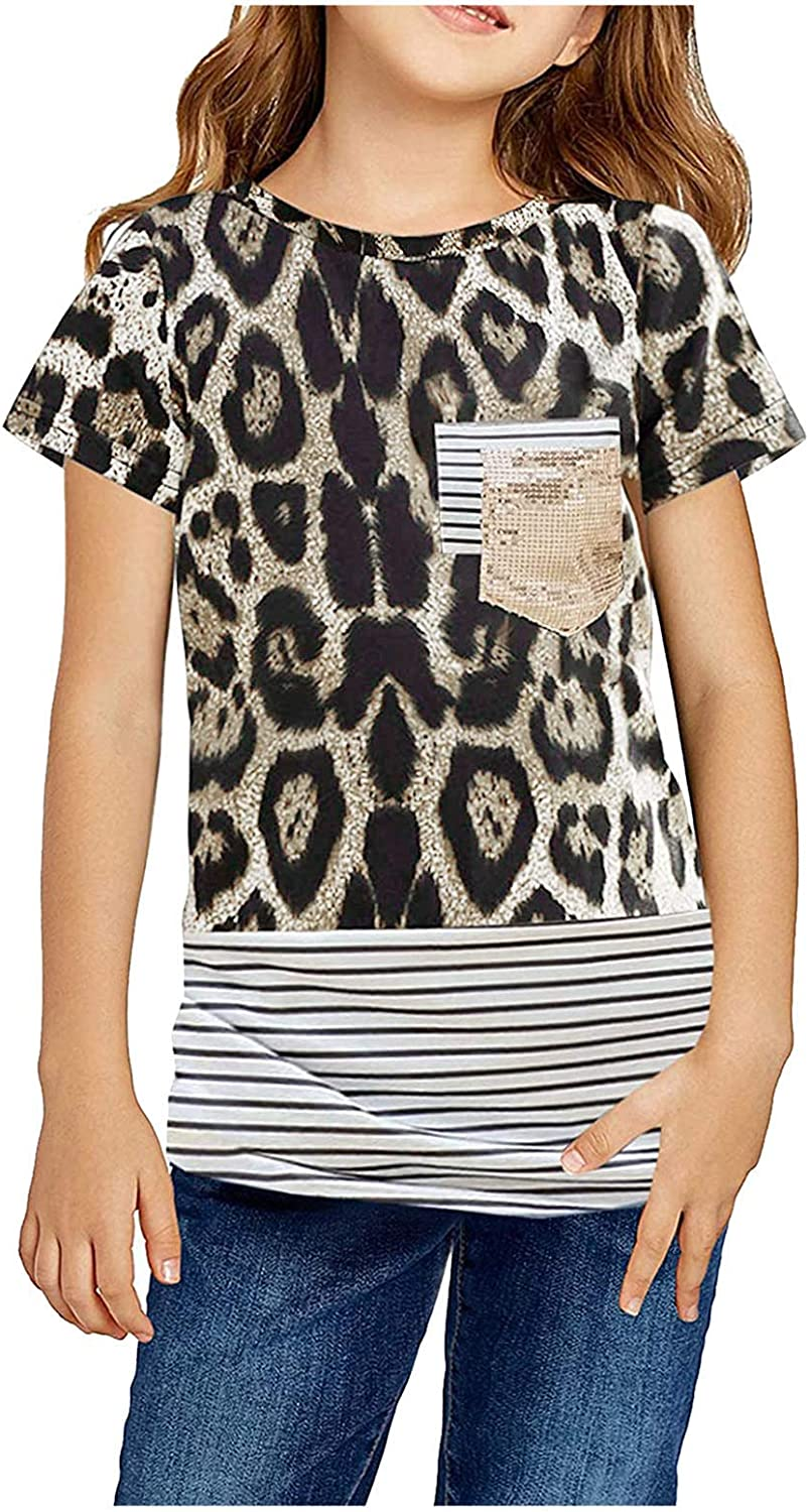 Digood Girls Casual Solid Color Kids Tunic Max Max 78% OFF 44% OFF Top Tops