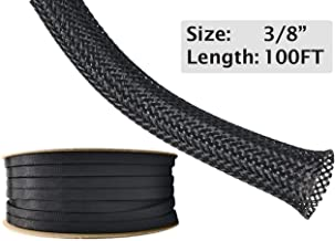 Best black mesh cable wrap Reviews