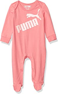 PUMA baby-girls Footie Coverall Baby and Toddler Footie
