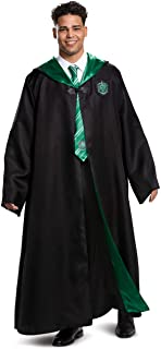Disguise unisex adult Slytherin Costume Outerwear, Black & Green, XXL 50-52 US