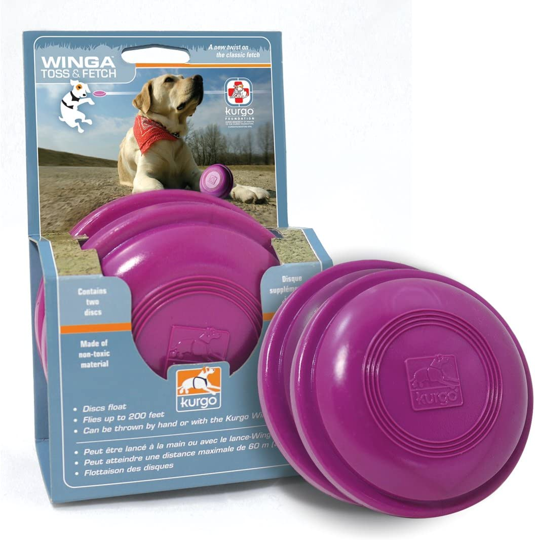 Kurgo Extra Disks Classic for Winga Brand Cheap Sale Venue Thrower Toy Throwe Flying Disc Dog
