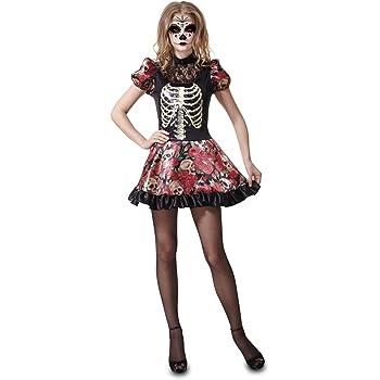 My Other Me Me-202278 Disfraz muñeca Día de los Muertos para mujer ...