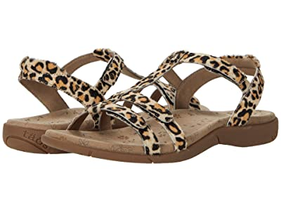 Taos Footwear Trophy 2 (Tan Leopard Print) Women