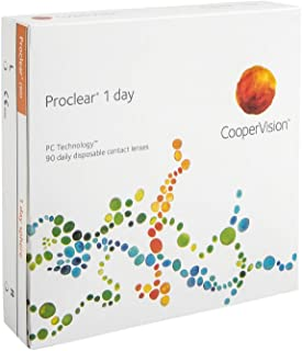 Proclear 1-Day - Lentes de contacto esféricas diarias (R 8.7 / D 14.2 / -2.25 Diop), Pack de 90 uds.