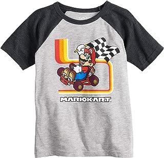 Little Boys' 4-12 Mario Kart Tee