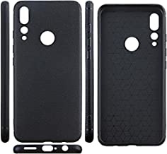 HYYT Replacement for Umidigi A5 Pro Slim Soft Silicone Shockproof Cover Protective Shell Silicone Case with 1-Pack Tempered Film (Black)
