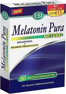 Melatonin Pura Retard Food Supplement 90 Microtavolette