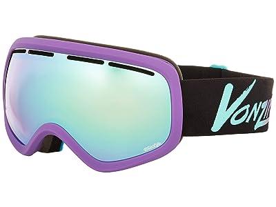 VonZipper Skylab Goggle (Neo Miami Haze Satin/Wild Stellar Chrome Lens) Snow Goggles