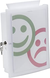 HAN 4102Boîte image 'in; La Urnes, Don Boîte innovante; losbox ou d'action Boîte en forme de Best, weiß