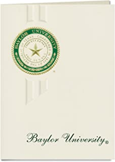 Signature Announcements Baylor University Graduation Announcements, Elegant style, Elite Pack 20 with Baylor U. Seal Foil