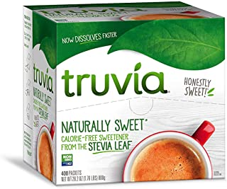 Truvia Naturally Sweet (Calorie-free)28.2 oz (400 packets)