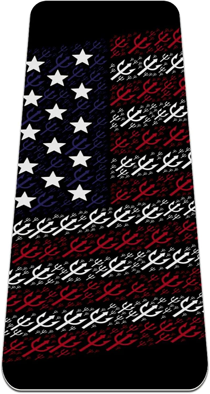 Thick Non Slip Exercise Fitness 1 4 State yoga mat Daily bargain sale with United A surprise price is realized
