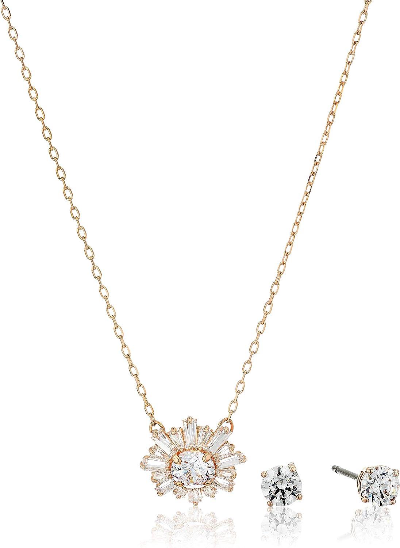 Swarovski 5480468 Women's Sunshine Crystal Pendant and Earring Set