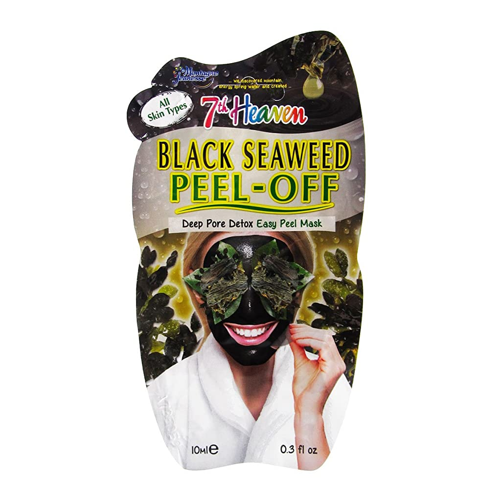 どのくらいの頻度で隔離する協力的Montagne Jeunesse Black Seadweed Peel-off Mask 10ml [並行輸入品]