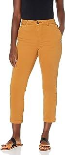 Goodthreads Pantalón Recto Chino elástico Pantalones para Mujer