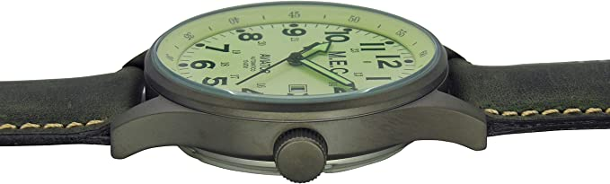orologio uomo analogico automatico con cinturino in pelle vintage :  amazon.it: moda  amazon.it