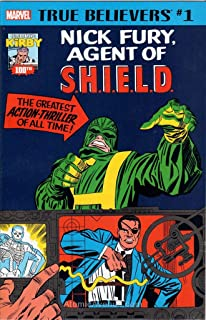 True Believers: Kirby 100th—Nick Fury, Agent of S.H.I.E.L.D. #1 VF/NM ; Marvel comic book