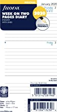 Filofax Personal Week on Two Pages Lined Diary 2020