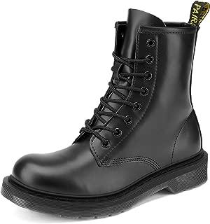 Best black rubber combat boots Reviews