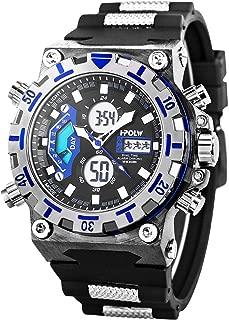 LED Digital Wrist Watch, Multifunctional Military Watch, Stopwatch Waterproof Big Face Mens Sports Watches