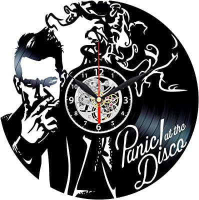 Panic at The Disco Vinyl Clock - Record Wall Decor - Rock Band Themed Gifts