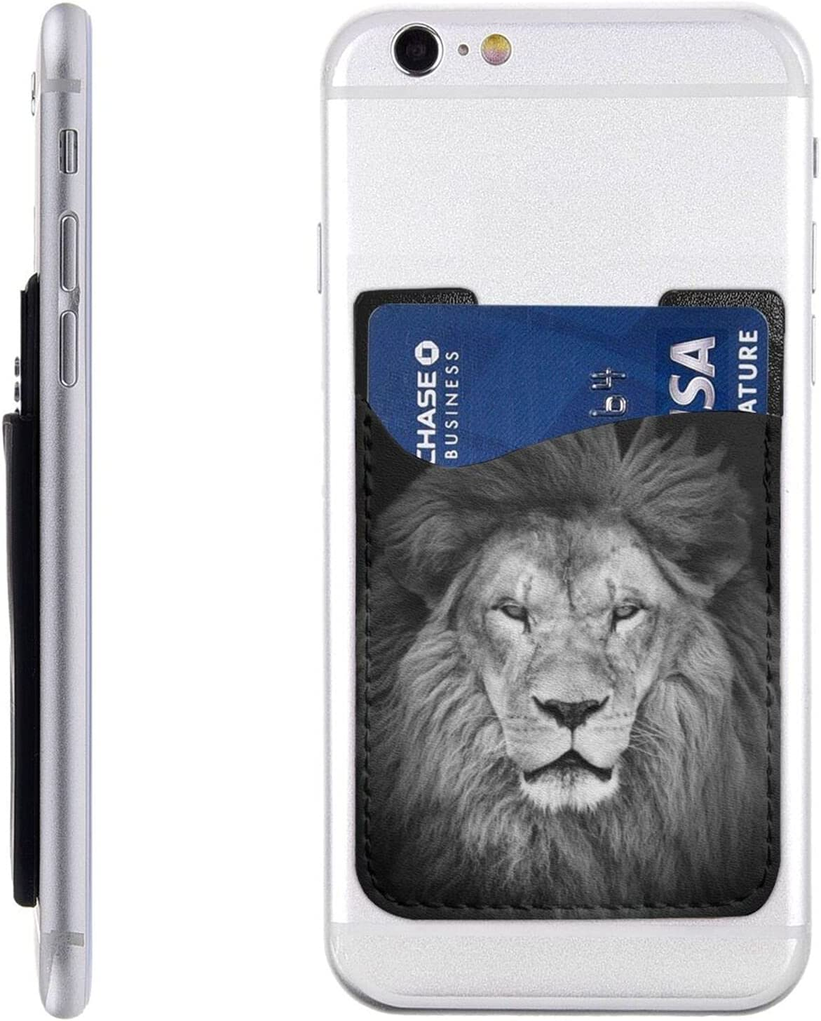 Lion Head Phone Card Holder Cell overseas On Slee Wallet Max 56% OFF Stick