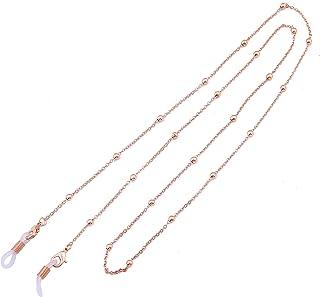 LIKGREAT Eyeglass Chains for Women Beaded Reading Glasses Cords Sunglasses Strap