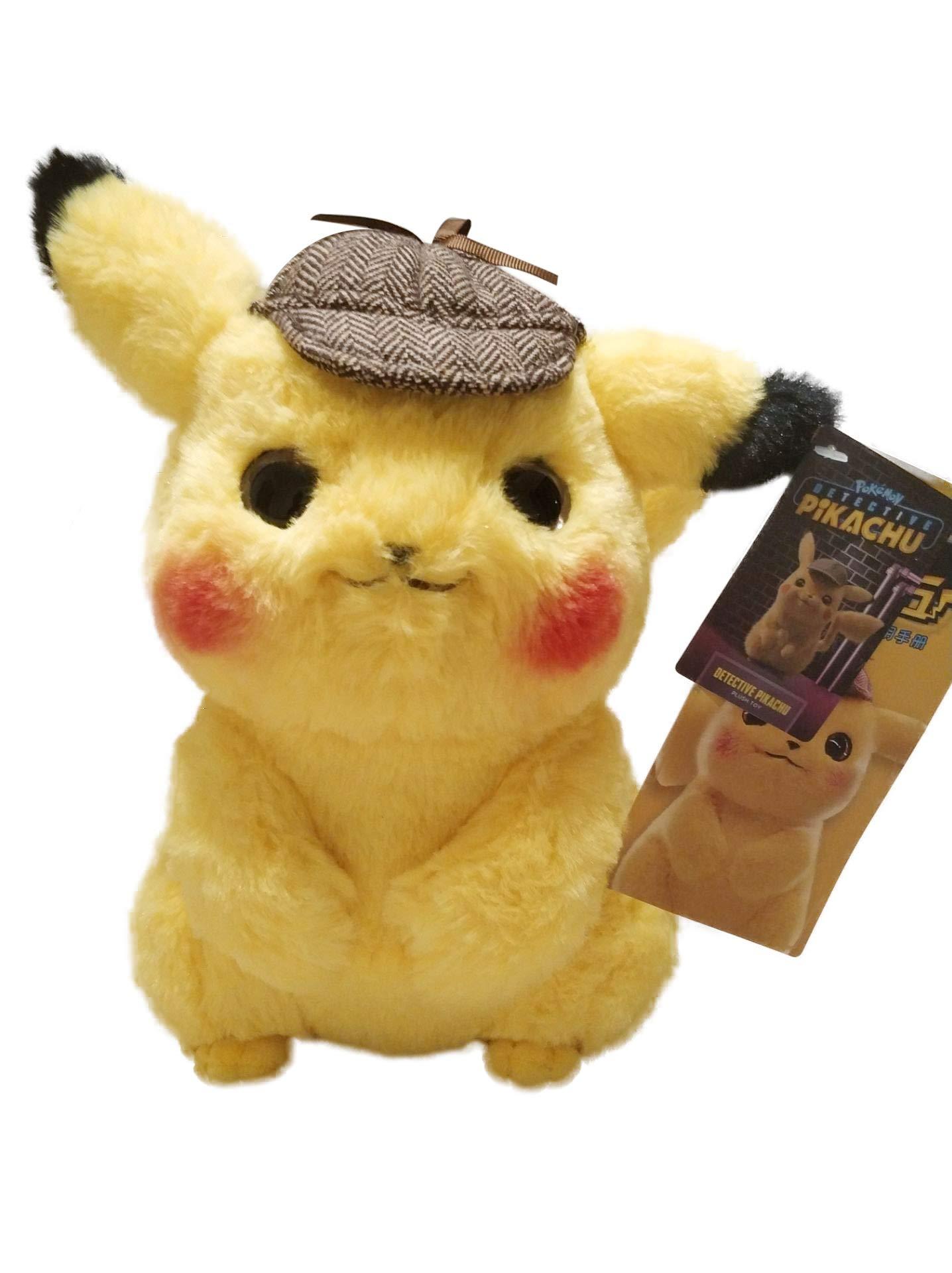 detective pikachu plush toy