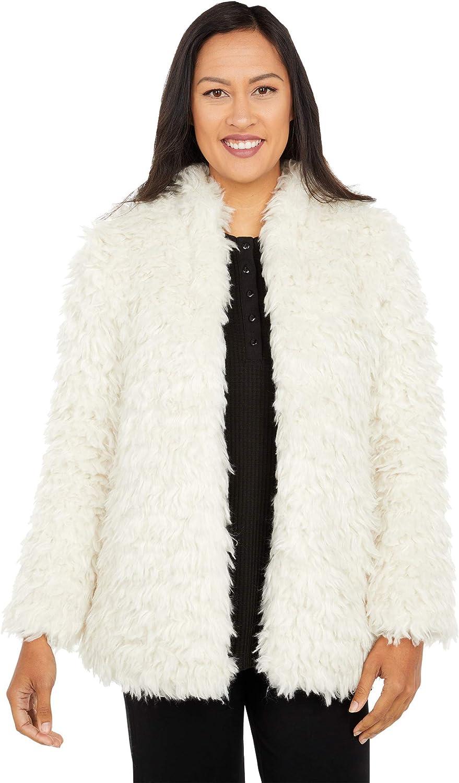 Dylan by True Grit Mongolian Faux Fur Jacket