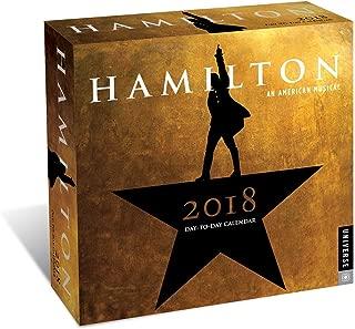 Hamilton 2018 Day-to-Day Calendar