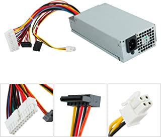 220W Replacement Power Supply Compatible with L220AS-00 Dell Inspiron 3647 660s Vostro 270 Gateway SX2300 Aspire X1200 X1300 Veriton X2110 X2610 eMachines L1200 L1210 Series, Compatible P/N: R82HS R82