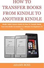 transfer kindle books to another kindle account