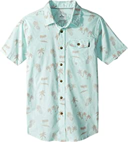 Poolside Short Sleeve Shirt (Big Kids)