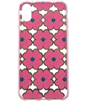 Kate Spade New York - Graphic Clover Phone Case For iPhone XS