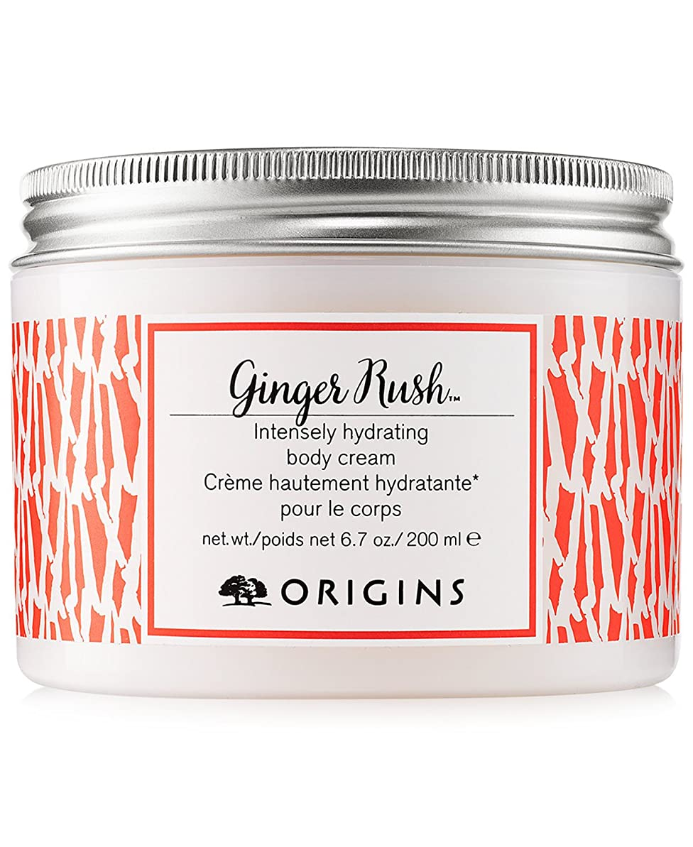 味援助する荒涼としたOrigins Ginger Rush Hydrating Body Cream, 6.7 oz.200 ml