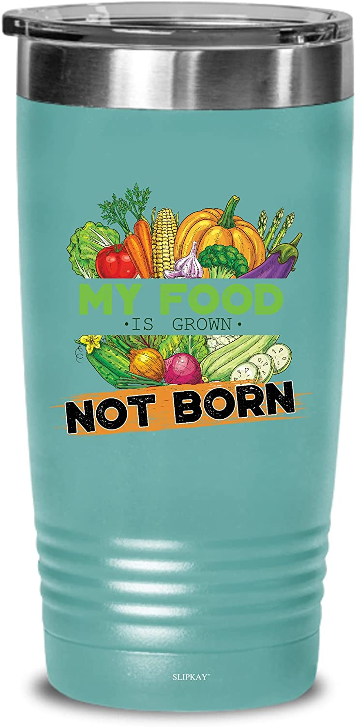 Vegan My Food Is Grown Gifts Born Industry No. 1 Not Tumbler 20oz At the price of surprise